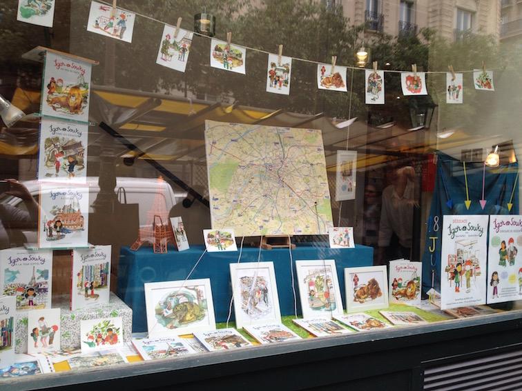 vitrine librairie comme un roman