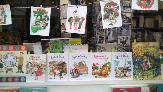 vitrine librairie l_art de la joie