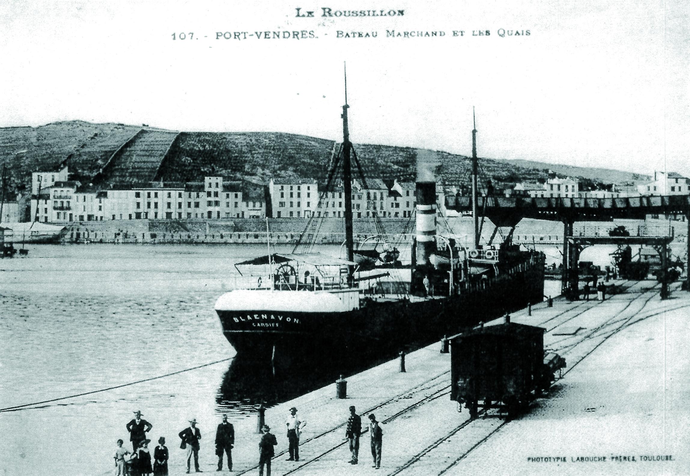 bateau marchand 1900